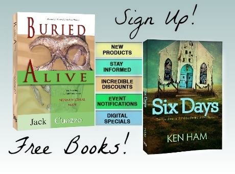 Sign up for our Newsletters: Stay Informed! Hear about new products, incredible discounts, and digital specials! New Subscribers receive FREE digital copies of Six Days and Buried Alive!